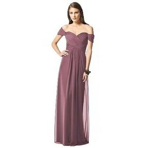 Dessy Collection English Rose Dress Prom Bride